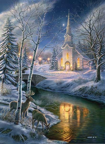 Oh Holy Night 1500 piece - jigsaw puzzle