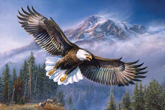 Eagle Anthem 1000 piece - jigsaw puzzle
