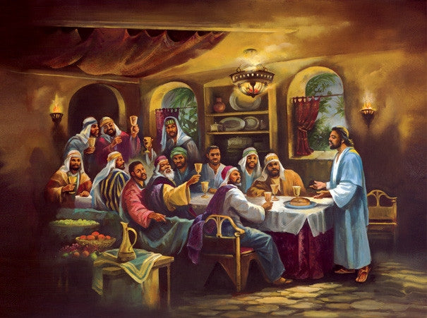 The Black Last Supper - 1000 piece jigsaw puzzle