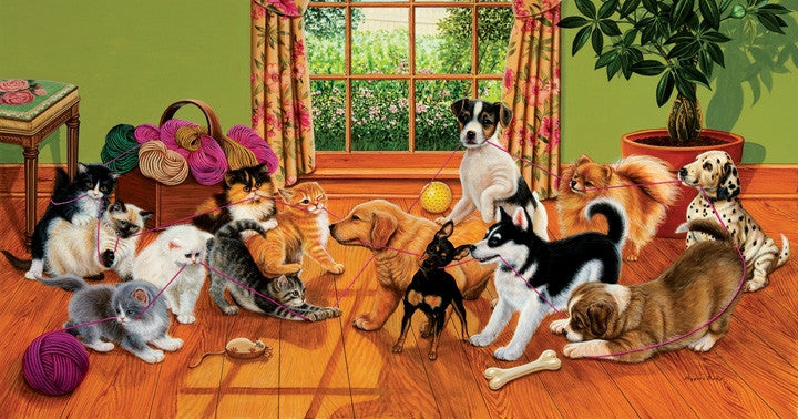 Tug of War 500 piece - jigsaw puzzle