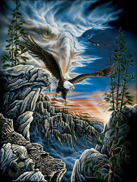 10 Eagles 500 piece- jigsaw puzzle