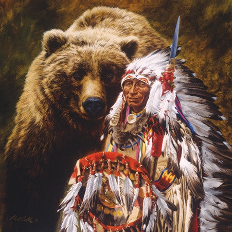 My Brother The Grizzly 1000 piece jigsaw puzzle