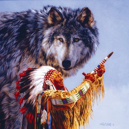 O Spirit of the Wolf 500 piece jigsaw puzzle
