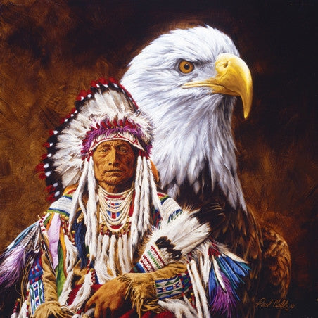 Spirit of The Eagle 500 piece jigsaw puzzle