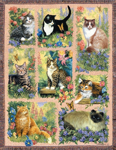 Jigsaw Puzzle - Cat Afghan