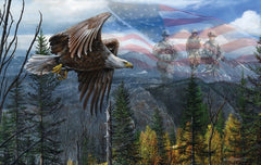 May Freedom Fly Forever 550 piece jigsaw puzzle