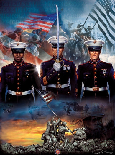The Few And The Proud 1000 Piece Jigsaw Puzzle It S A