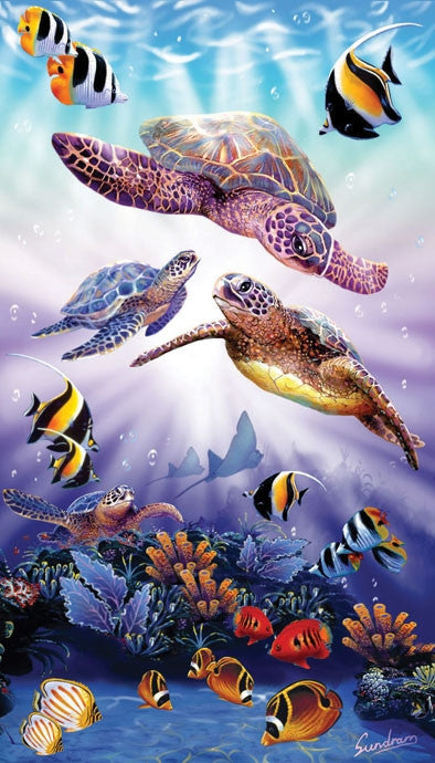 Turtle Play 500 piece - jigsaw puzzle