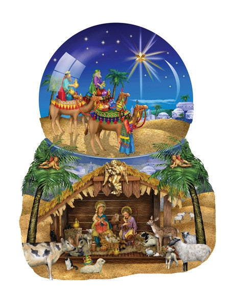 O Star of Bethlehem 1000 piece shaped puzzle