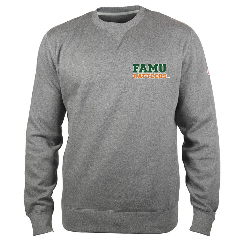 FAMU sweatshirt - basic crew - grey