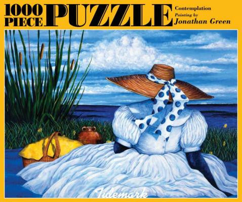 Contemplation 1000 Piece Jigsaw Puzzle It S A Black