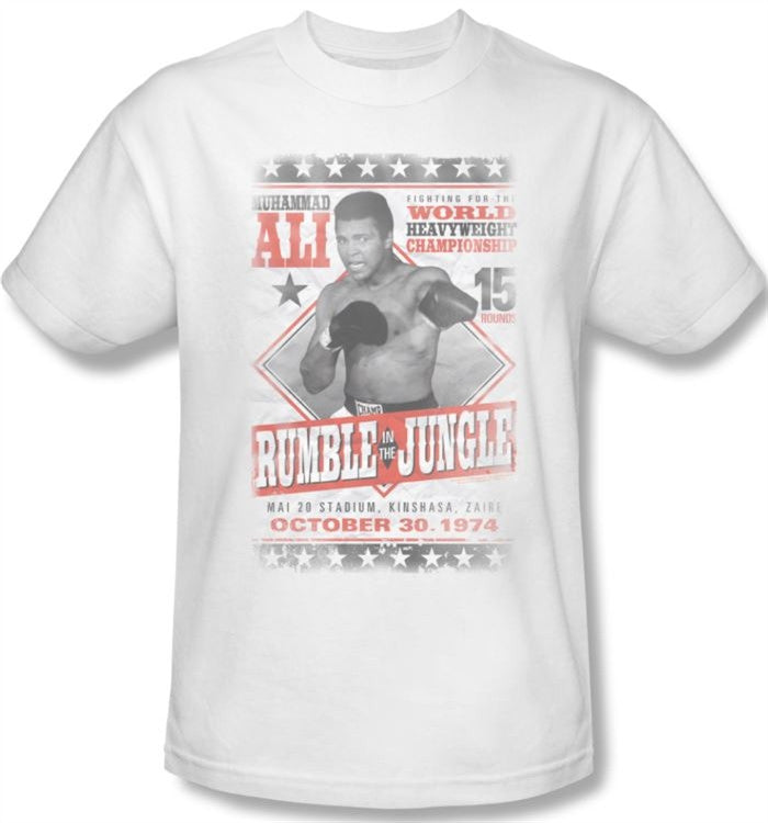 Muhammad Ali - Rumble - t-shirt