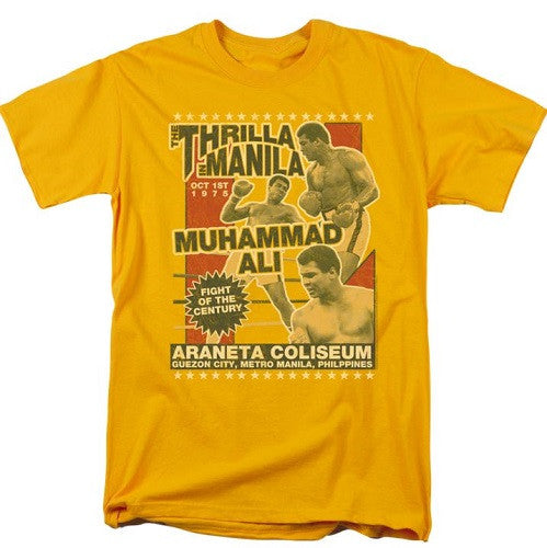 Muhammad Ali - Thrilla in Manila - t-shirt