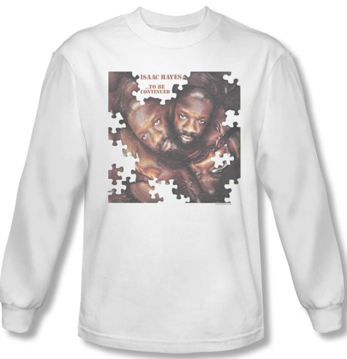 Issac Hayes - To Be Continued - long sleeve t-shirt