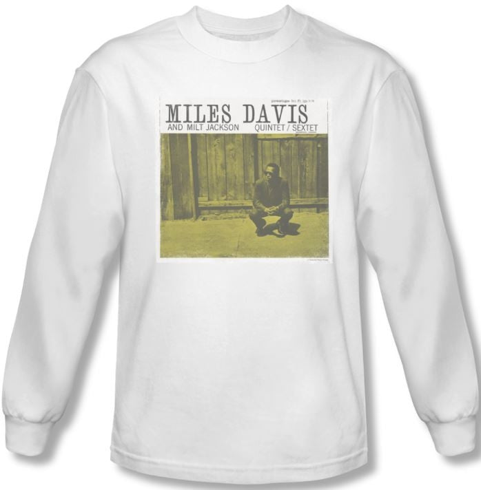 Miles Davis - Miles and Milt - long sleeve t-shirt
