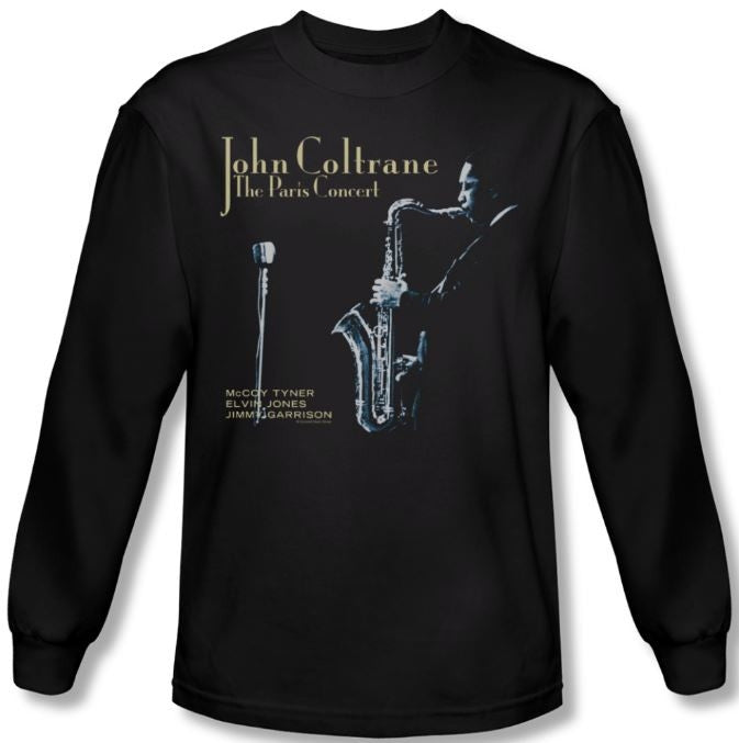 John Coltrane - Paris Concert - long sleeve t-shirt