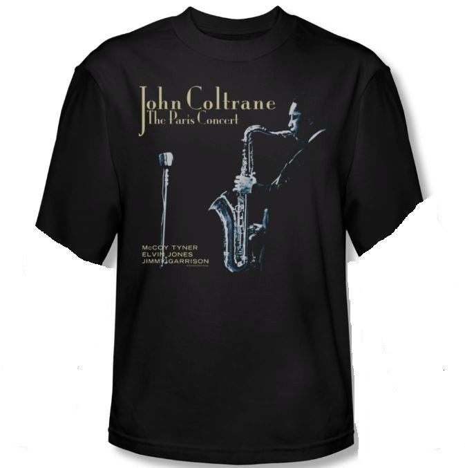John Coltrane - Paris Concert - short sleeve t-shirt