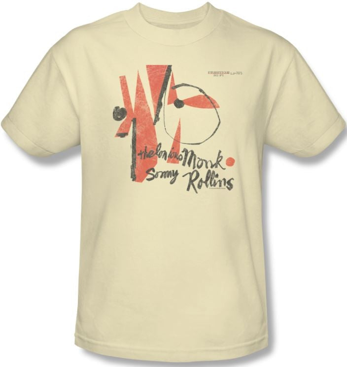 Thelonious Monk - Monk-Sonny Rollins - t-shirt