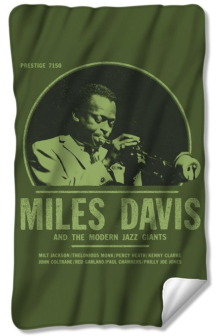 Miles Davis - fleece blanket
