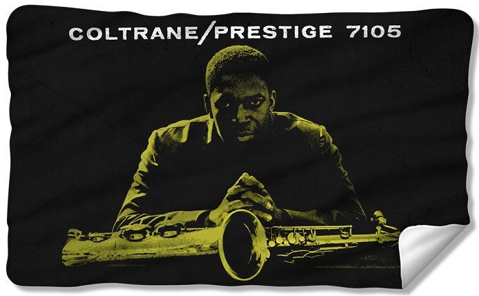 John Coltrane - Prestige - fleece blanket