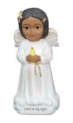 Cheerful Cherubs - Lord is my Light - figurine