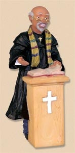 Preacher - church figurine