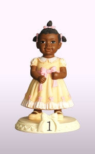 Birthday Girl - age 1 - figurine