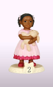 Birthday Girl - age 2 - figurine