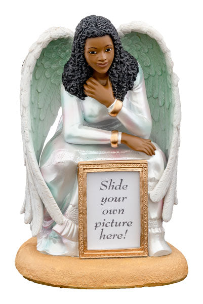 Guardian Angel - with frame - figurine