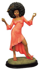 Afro Queen figurine