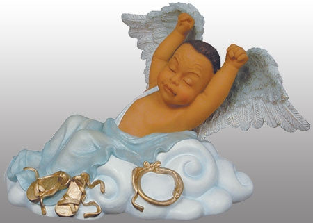 Angel Babies - Lil Man Stretching - figurine