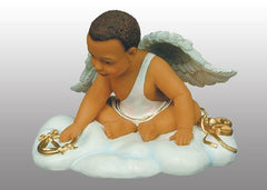 Angel Babies - Lil Tiger Sitting - figurine