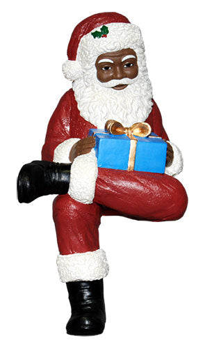 Santa Shelf Sitter - resin