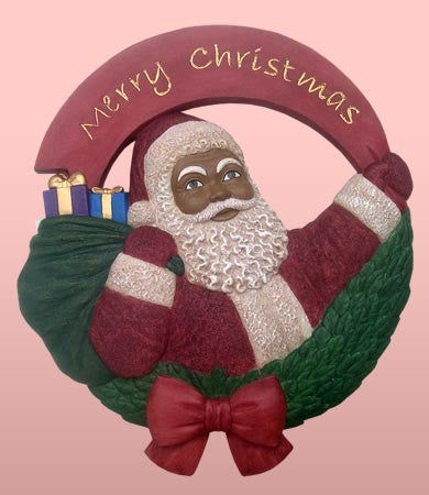 Santa wall plaque