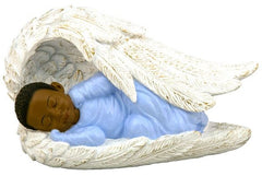 Babies in Angel Wings - Boy - figurine
