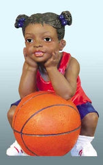 Basketball Kids - girl - figurine