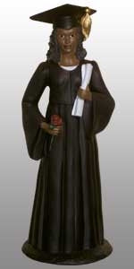 Graduation Figurine - female