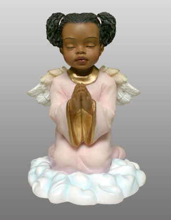 Praying Angel Girl Figurine It S A Black Thang Com