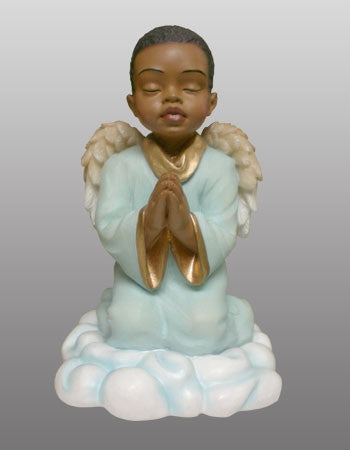 Praying Angel boy - figurine