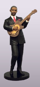 Ebony Vibrations - Guitarist - figurine