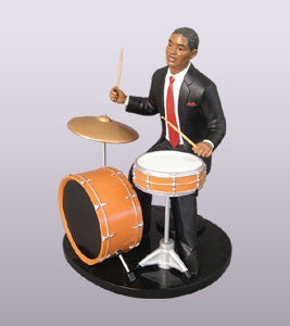 Ebony Vibrations - Drummer - figurine