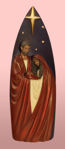 Tall Nativity - Afri Amer nativity scene - figurine