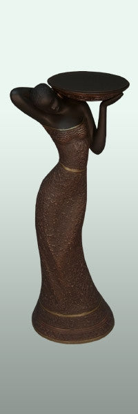 Votive Holder - Woman in red-C - figurine