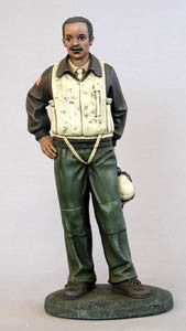 Professionals - 332nd Fighter Pilot - figurine