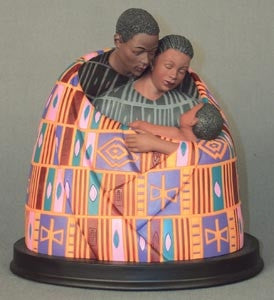 Keith Mallett - Family Circle - figurine - open box