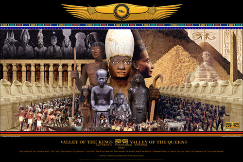 Valley of the Kings and Queens - 24x36 print - A. Whitaker