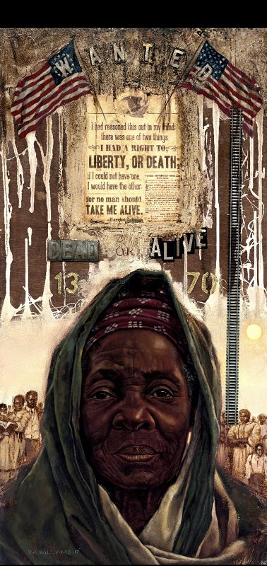 Harriet The Emancipator - 24x48 - artist proof - WAK