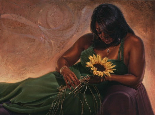 Sunflower Dreams - 24x36 limited edition giclee - WAK