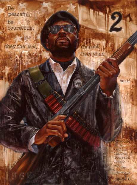 The Right 2 Revolution - 30x40 limited edition giclee - WAK