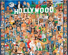 Hollywood 1000 piece jigsaw puzzle